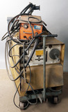 Miller Model-CP-250TS-multipurpose welder, mounted on cart, with Airco Mig