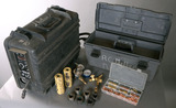 Miller Model-12-RC suitcase wire feeder with torch & accessories box, seria