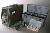 PowCon Model-PDVS-II wire feeder with torch and accessories box, serial #KH