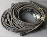 Lot of (6) approximately 25' Miller Remote Cable feeder cables