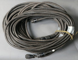 Lot of (3) approximately 50' Miller Remote Cable feeder cables