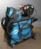 Miller Pipe Worx-400 multi-process dual mig two-torch welder with tig set-u