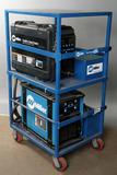 Miller Pipe Worx-350 Field Pro portable component welder on custom steel/me