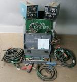 TRW-Nelson (green set) Arc Stud Welder kit, Model/Series 1000 with power co