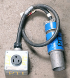(1) approx 5' 100 AMP, 240-600-volt single patch cord