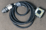 (1) approx 10' 30 AMP,240-600-volt single patch cord