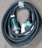 (1) approx 15' 30 AMP,240-600-volt single patch cord