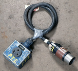 (1) approx 5' 50 AMP, 250- volt single patch cord