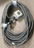 (1) approx 100' 50 AMP, 240-480 volt single box extension