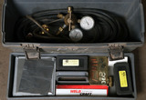 (1) WP9-F Flex-tig outfit with torch & lead, argon gauge, varying accessori