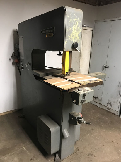 StarRite Model 30 RWH band saw with DoAll DBW-15PI blade splicer