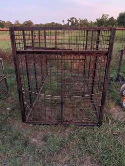 Large hog trap