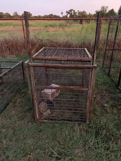 Medium hog trap