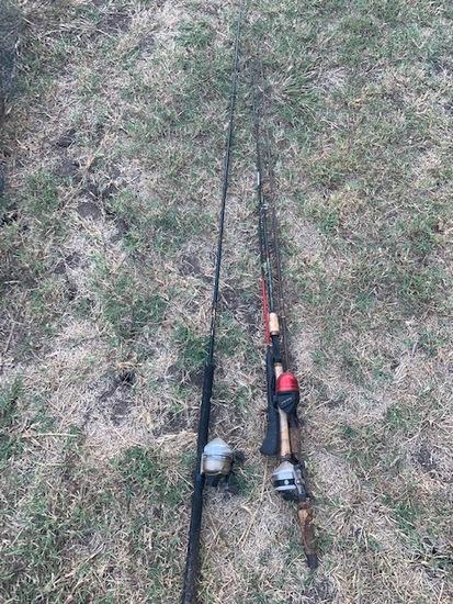 4 rods/3 reels