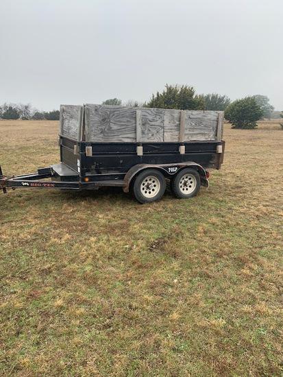 Big Tex 5 x 10 dump trailer 70 LP