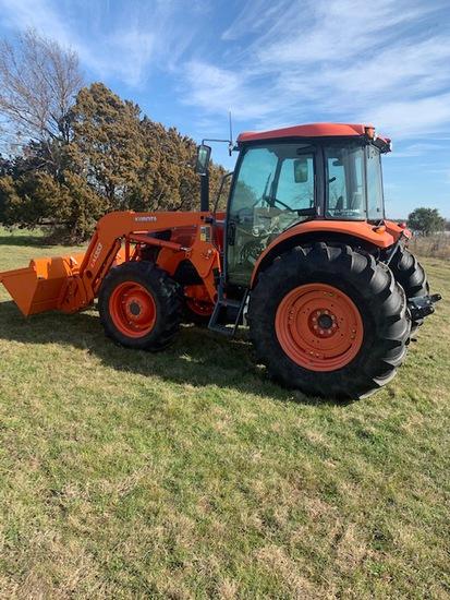 Kubota 9960D cab tractor