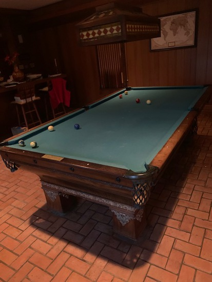 Rex Billiard Supply Custom Pool Table
