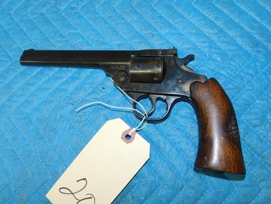 Iver Johnson Model 844 Top-Break 8-Shot .22 Revolver AS-IS