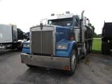 1985 KENWORTH W900 Quad Axle Dump Truck