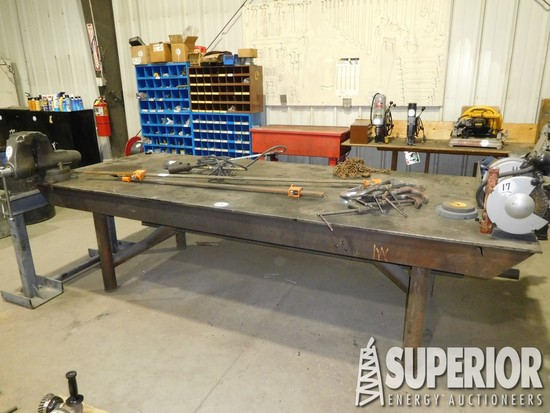 4' x 10' Heavy Duty Shop Steel