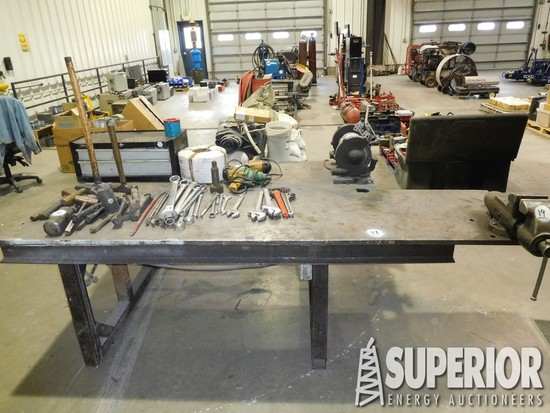 4' x 8' Heavy Duty Shop Steel