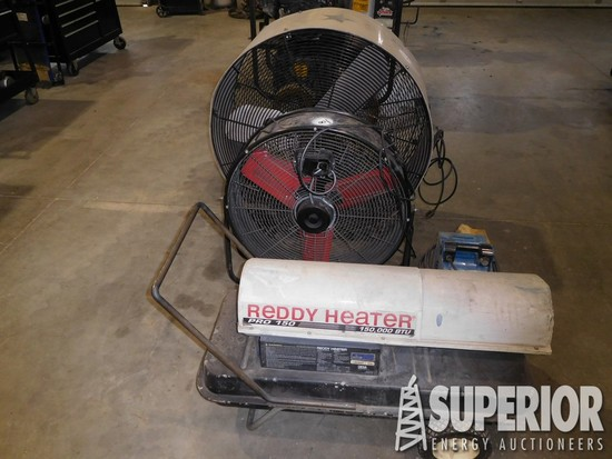 "TPI 36"" Shop Fan, PROTEMP 24"""