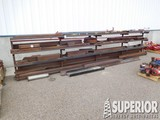 Large Lot of Steel, Sq Tubing,