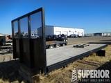 8'W x 20'L Truck Flatbed f/T/A