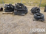Large Lot of Hyd Hoses (Some U