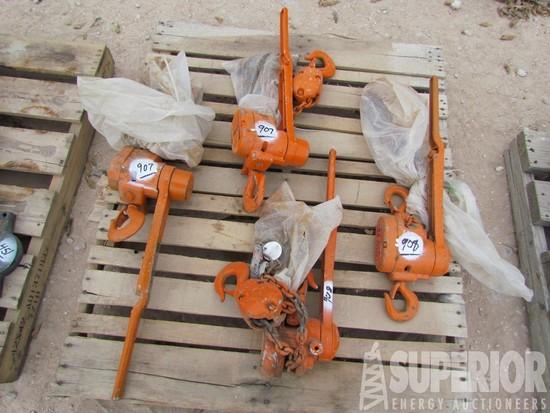 (x) CM 1-1/2-Ton Chain Hoists