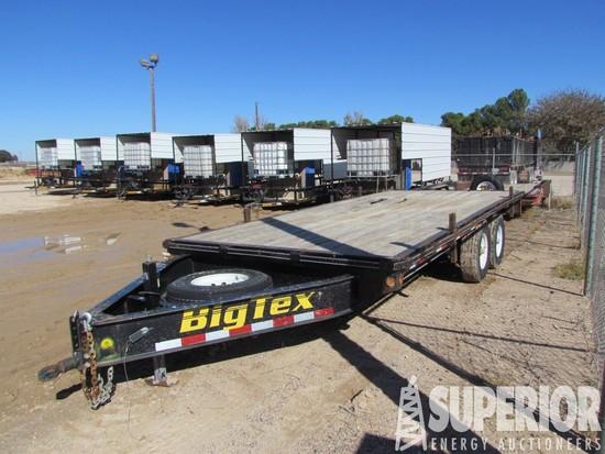 (x) 2012 BIG TEX T/A Flatbed T