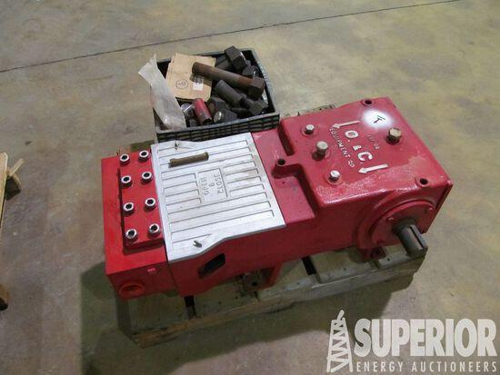OPEN & CLOSE EQUIP Triplex Charging Pump (UNUSED),
