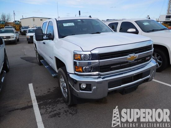 (x) 2015 CHEVROLET 2500HD Z-71 4x4 4-Door Pickup,