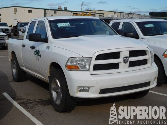 (x) 2012 DODGE Ram 1500 4x4 4-Door Pickup, VIN-1C6