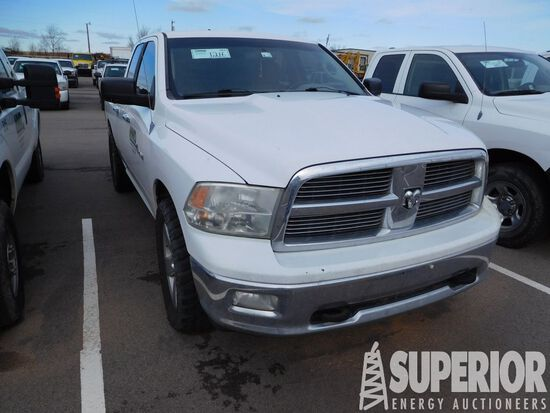 (x) 2010 DODGE Ram Lone Star 1500 4x4 4-Door Picku