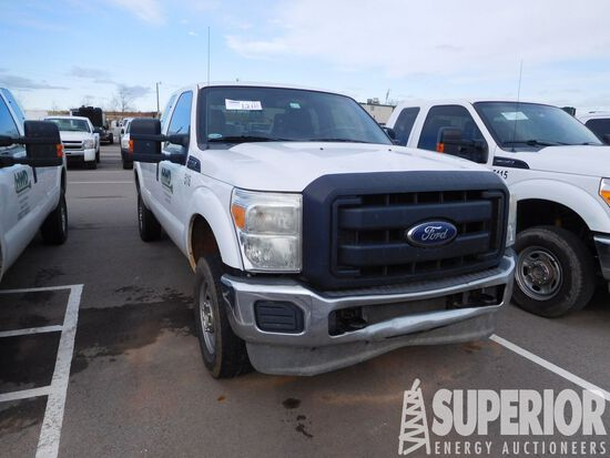 (x) 2013 FORD F-250 Super Duty 4x4 Extended Cab Pi