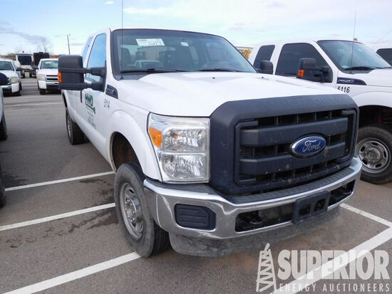 (x) 2012 FORD F-250 Super Duty 4x4 Extended Cab Pi