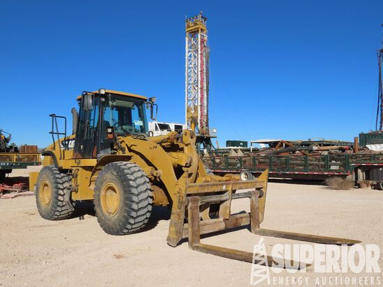 (3-316) CAT 950H Wheel Loader, S/N-CAT0950HLK5K018