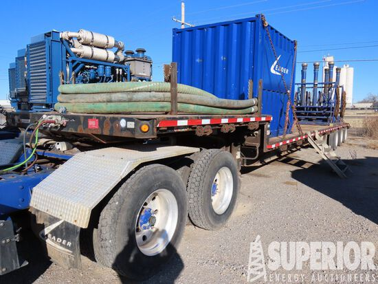 (x) (4-36) 2007 MANAC 3-Axle Step Deck Trailer, VI