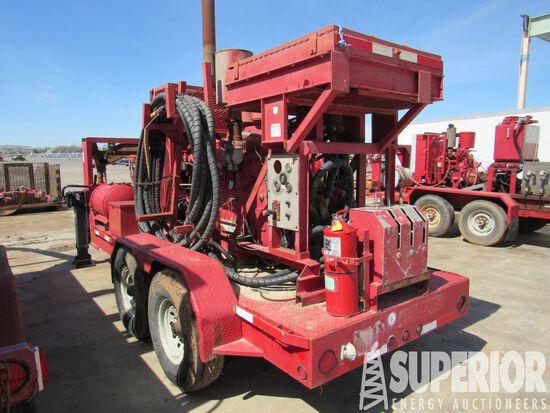 (x) Dual Motor HPU p/b DETRIOT 6-71 Diesel, w/ Elec Start, Radiator, Gauges