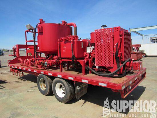 "(x) BLACKHAWK 5"" x 6"" Cent Pump p/b DETRIOT 3-53 Diesel, w/ PTO, Alum Fuel"