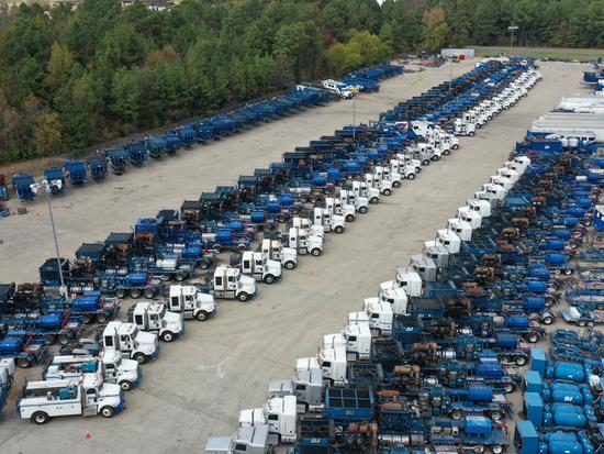 BJ Services - Frac Fleet Auction