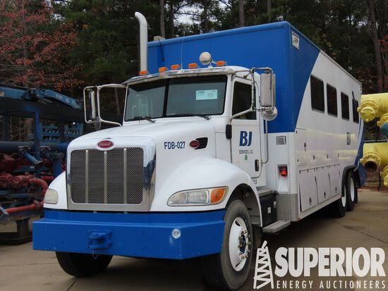 (x) 2013 PETERBILT 348 T/A Data Van Truck, VIN-2NP