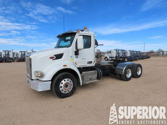(x) 2018 PETERBILT 567  T/A Truck Tractor w/Day Ca