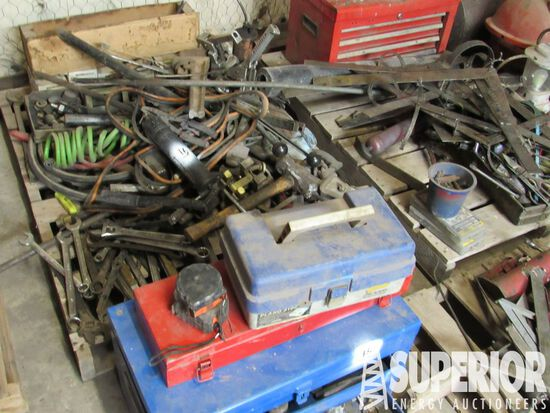 (3) Pallets of Hand Tools, HD Staplers, Bottle Jac