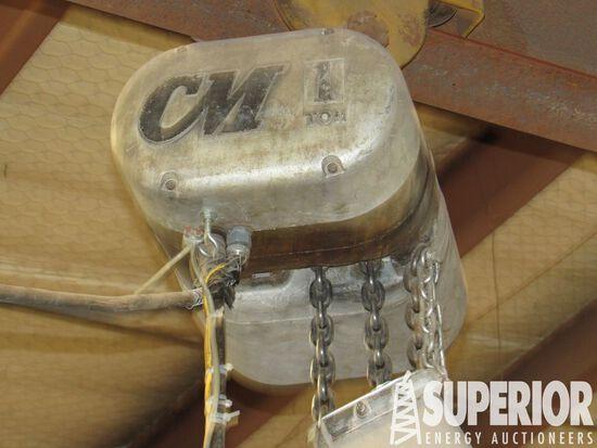 CM HOIST 1-Ton Elec Chain Hoist w/BUDGET Cord Reel