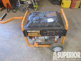 GENERAC GP5500 Portable Gas Eng Gen w/OHV Eng