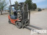 TOYOTA 7FDU25 4500# Forklift, S/N-61845, p/b TOYOT