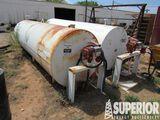(2) 4'Dia x 12'L 1100-Gal Fuel Tanks, Ea w/TUTHILL