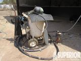 2013 AXXIOM Sandblasting Pot w/Bull Hose, Water Tr